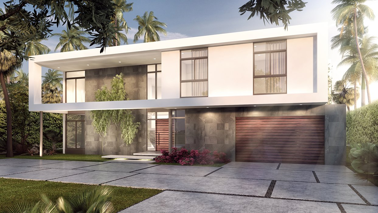 Architecture project in Diplomat Parkway in Hollywood