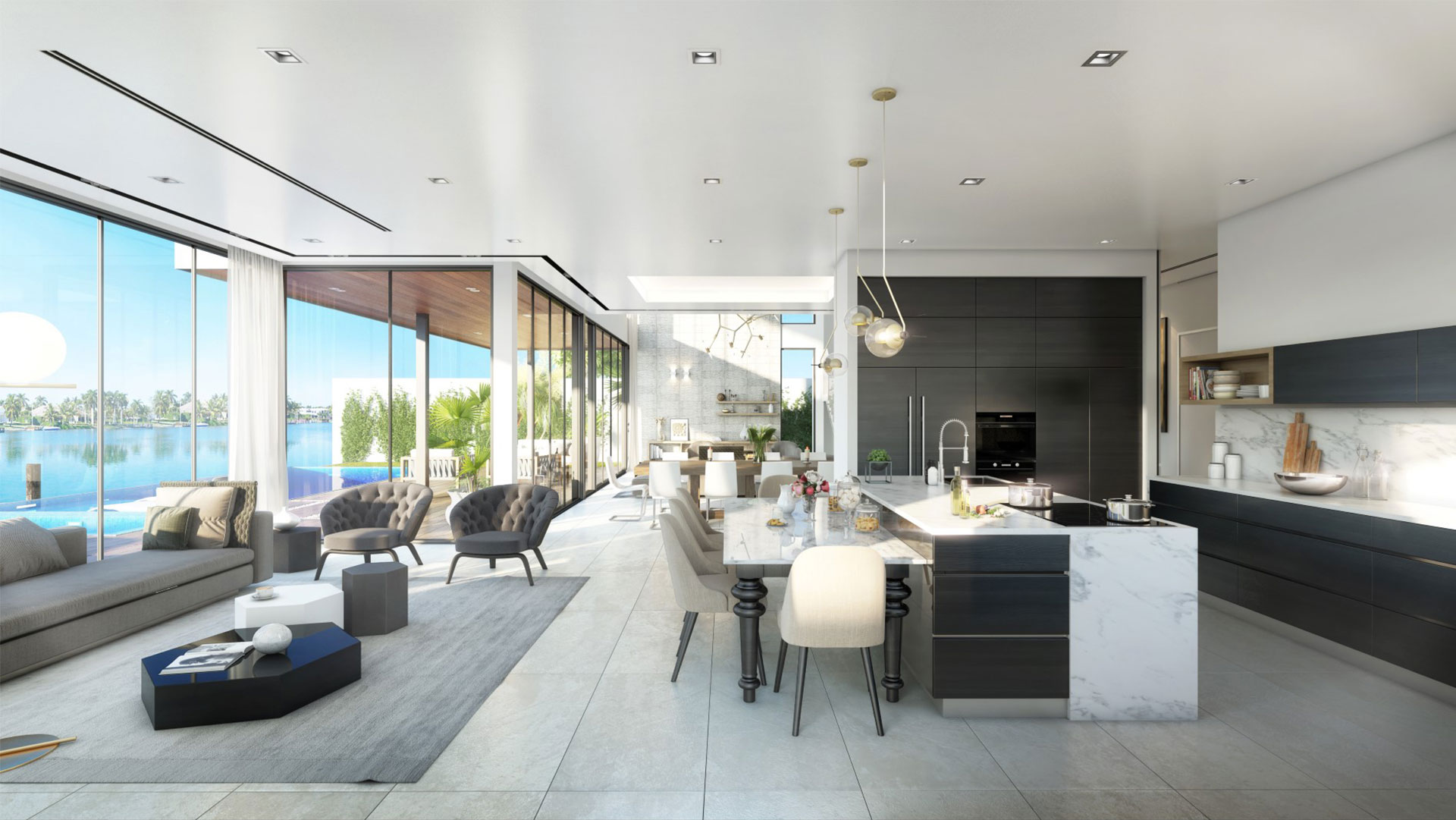 Interior View architecture at 1537 Fort Lauderdale