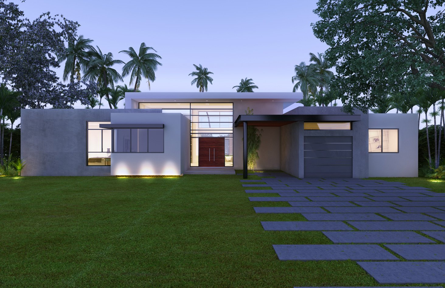 Front View architecture project at 19501