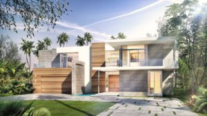 Exterior Architecture project in 301 Golden Beach Drive, Florida