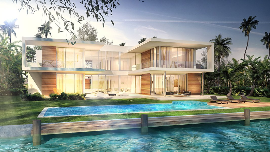 Architecture project in 301 Golden Beach Drive, Florida