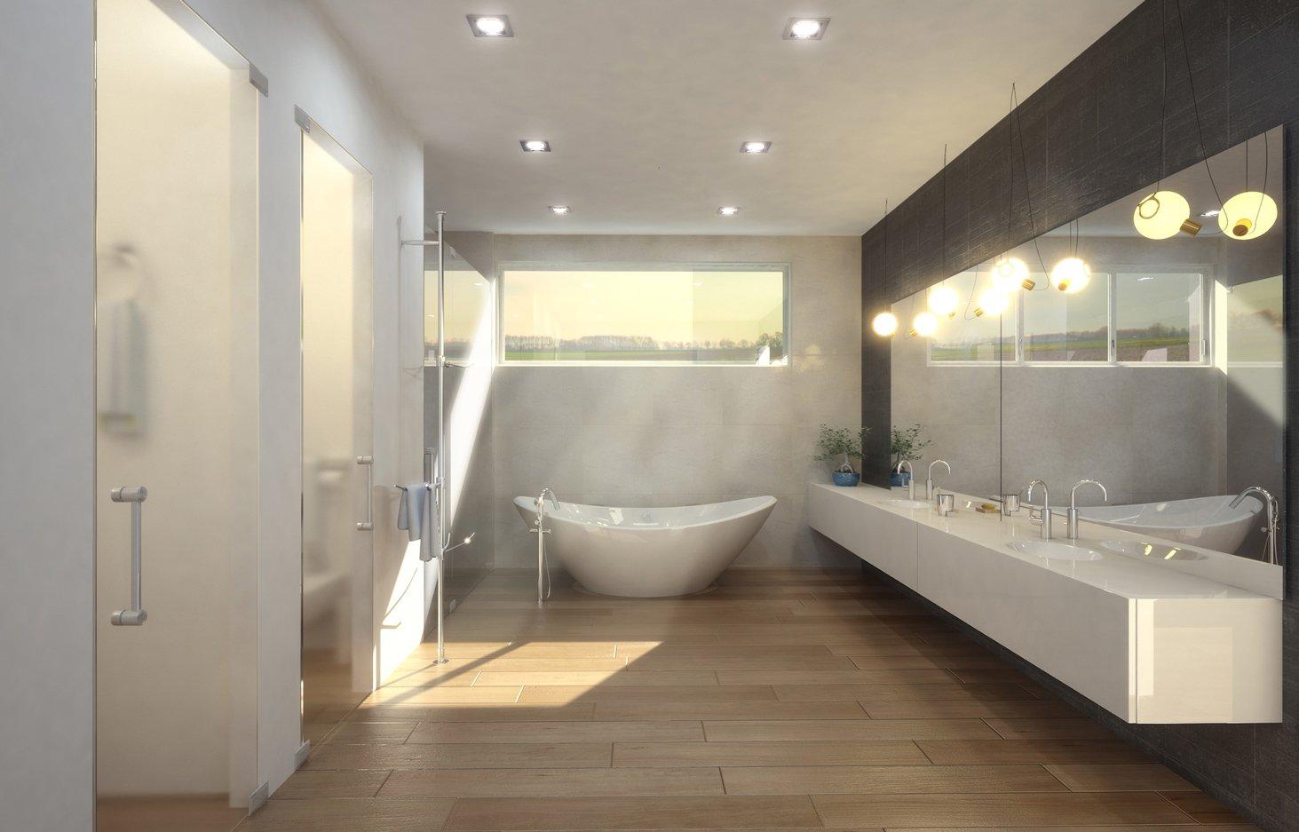 Interior Design bathroom view project in 77 Bal Harbuor, Florida