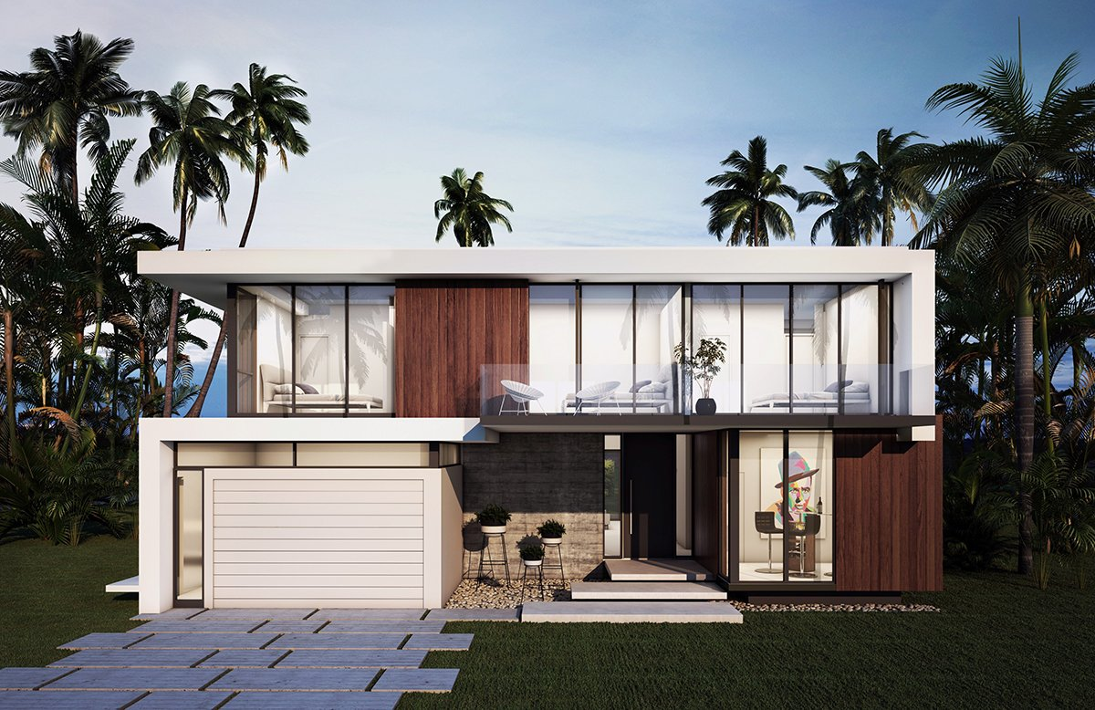 Exterior Architecture project in 98 St Bay Harbor