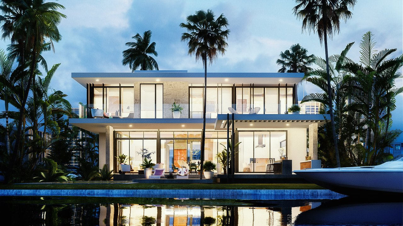 Back View Architecture project at 9961 Bay Harbor, Florida