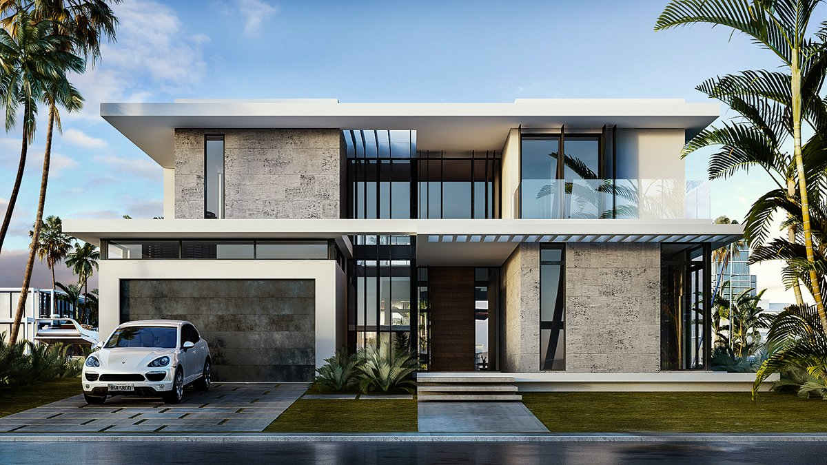 We developed the Architecturen of the 9961 Bay Harbor, Florida