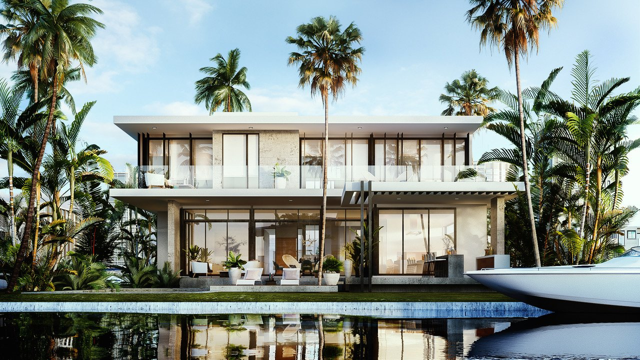 Architecture project in 9961 Bay Harbor, Florida