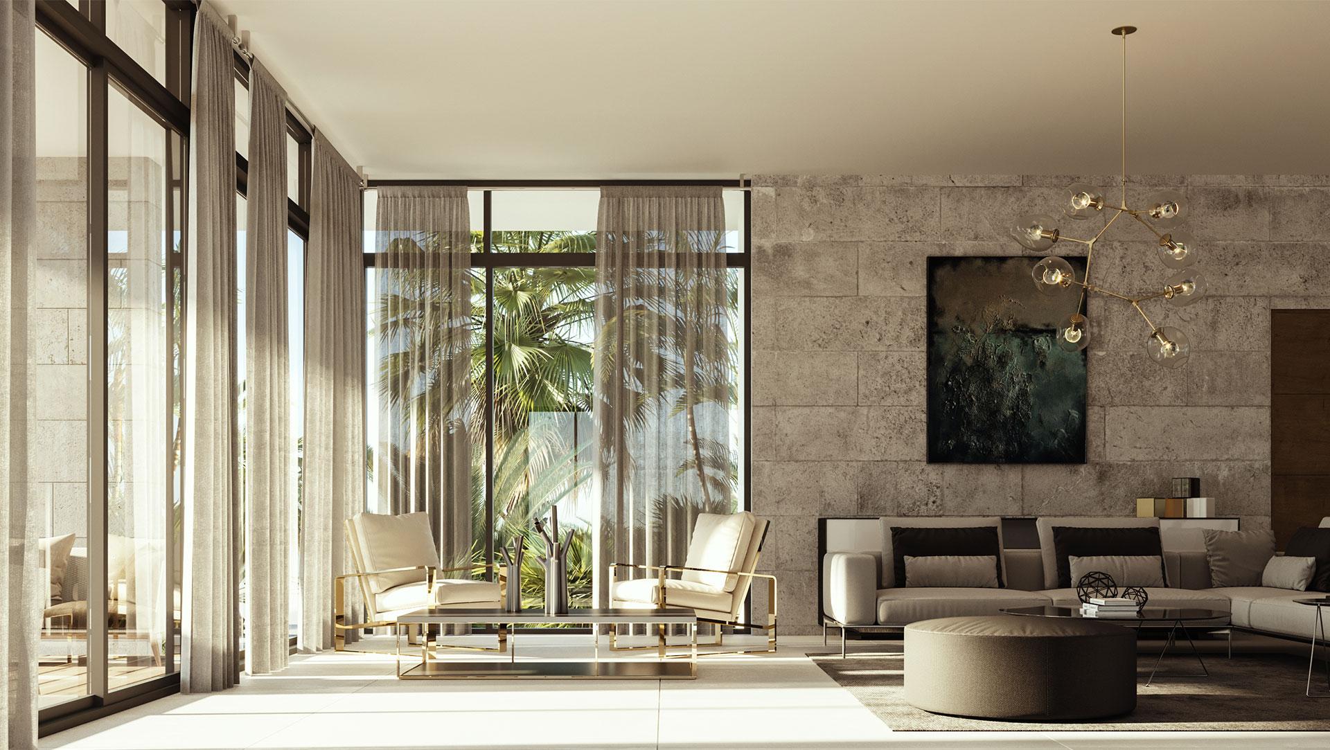 Interior Design project in 9961 Bay Harbor, Florida