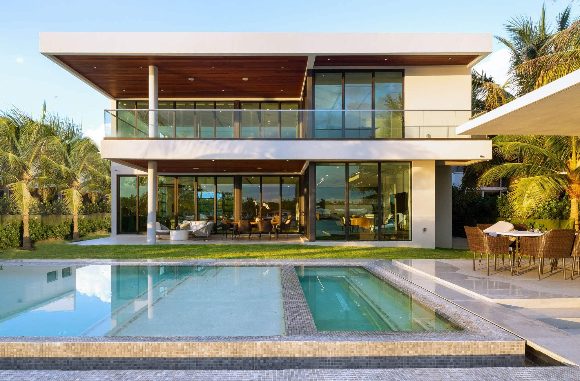 Architecture project in Biscayne Point, Miami Beach