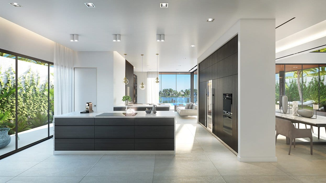 We developed the Architecturen of the Biscayne Point, Miami Beach