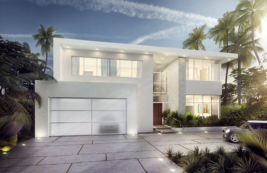 Architecture project in Broadview Drive, Bay Harbor