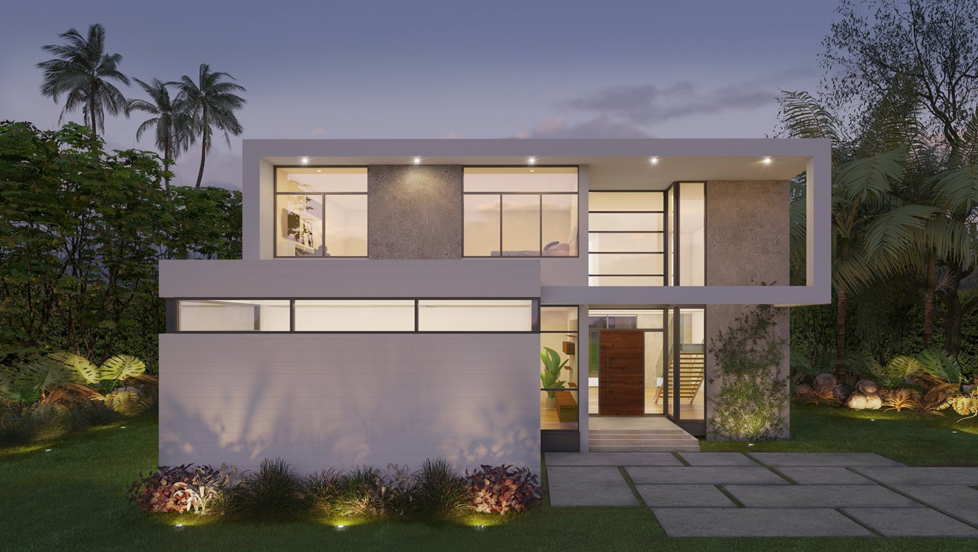 Architecture project in Cleveland Road, Miami Beach