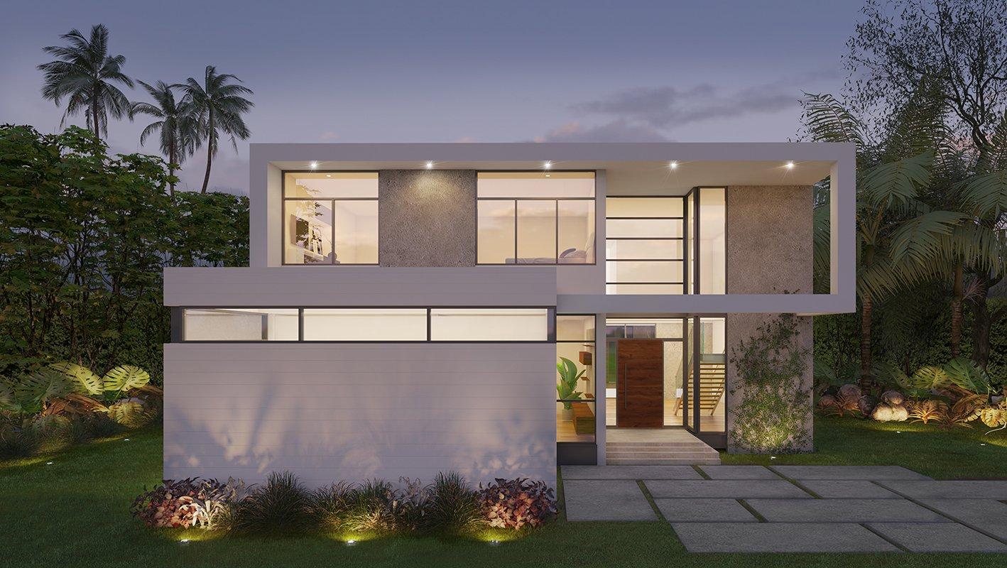 Architecture project in Cleveland Road, Miami Beach
