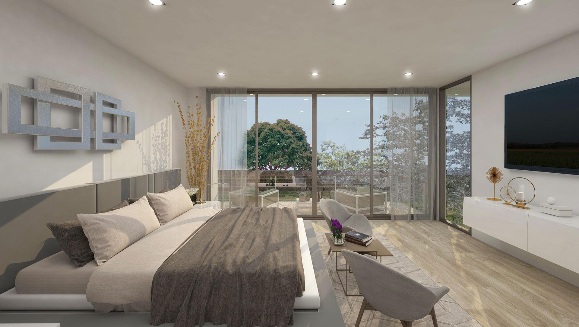 Interior Design bedroom project in Douglas RD, Florida
