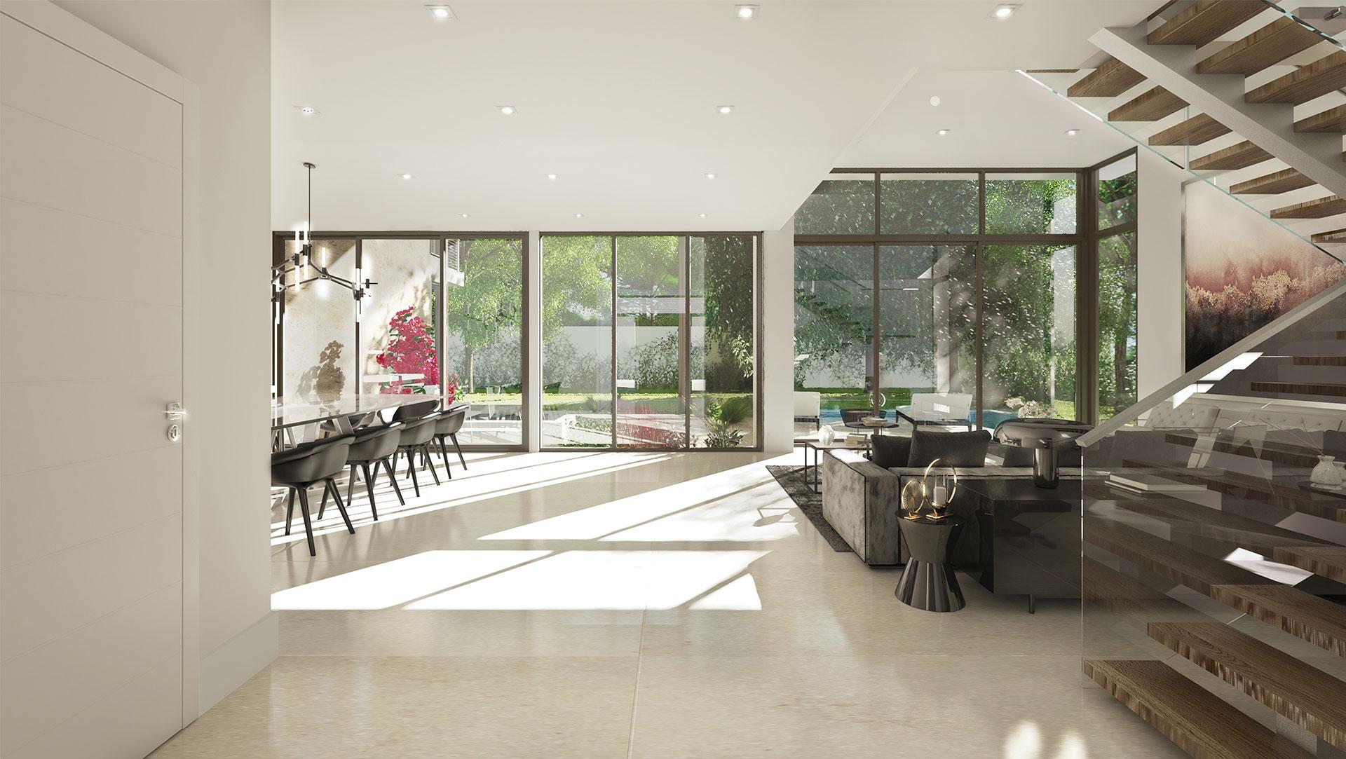 Interior Design living room project in Douglas RD, Florida