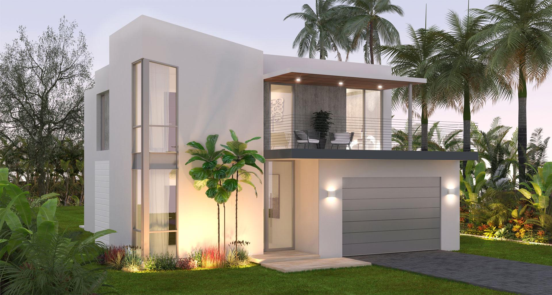Architecture project in Guam 3 Unit Complex