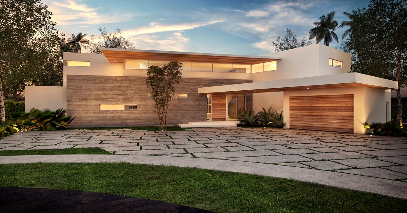 Architecture project in Lake Point, North Miami Beach