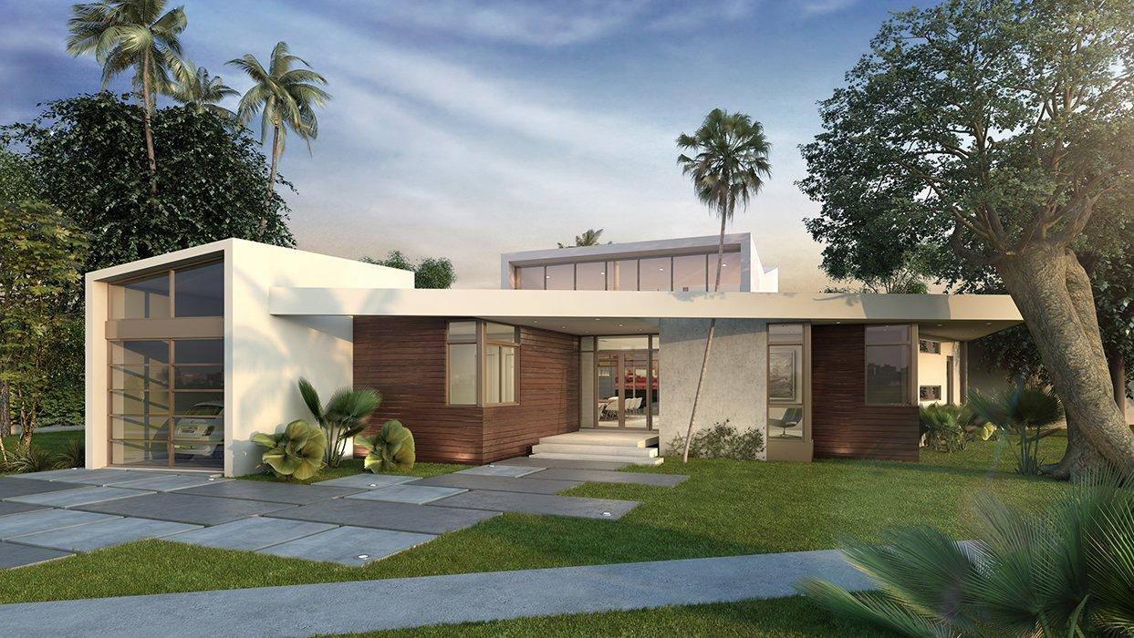 Architecture project in Lake View, North Miami Beach
