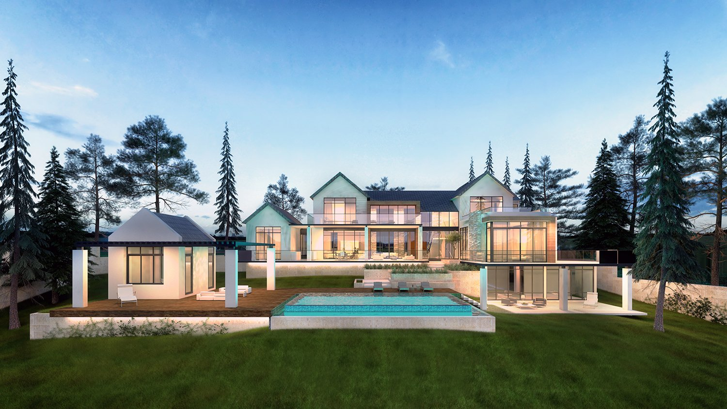 Transitional architecture project in North Carolina