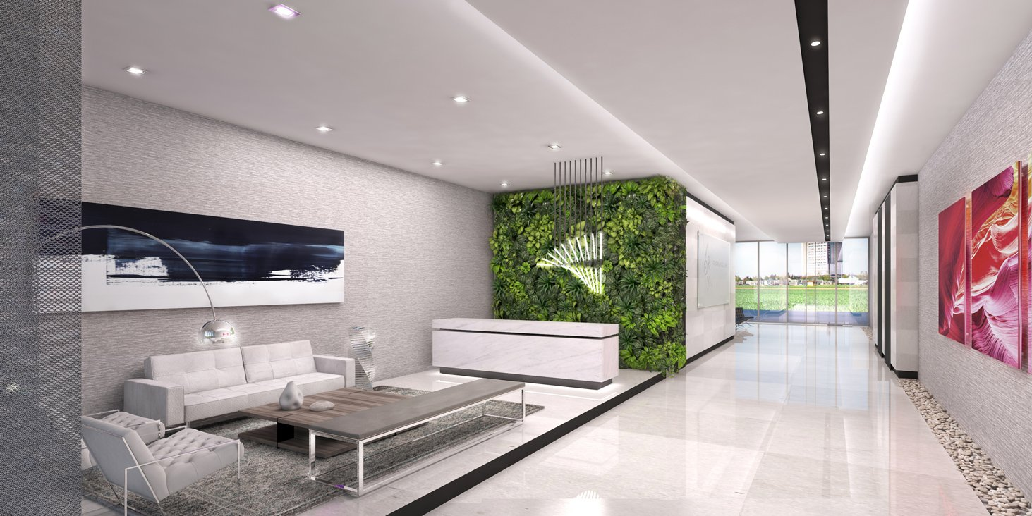 Interior Design project in Shalev Office Building Lobby