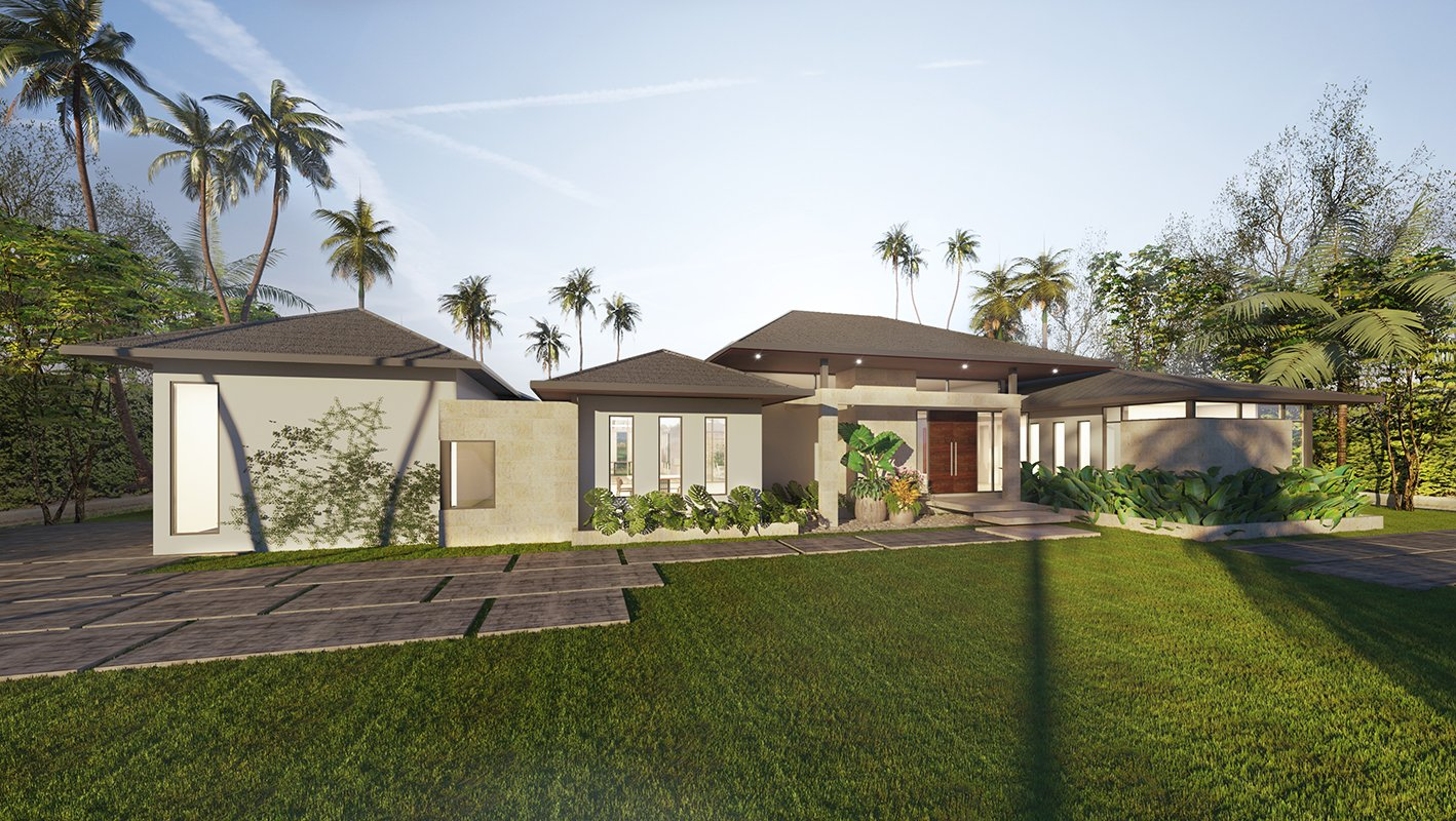 Exterior Architecture project in Suncrest Drive Florida