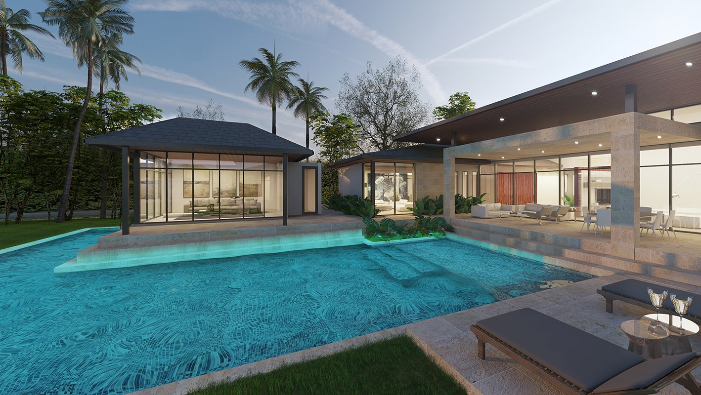 We developed the Architecturen of the Suncrest Drive, Florida