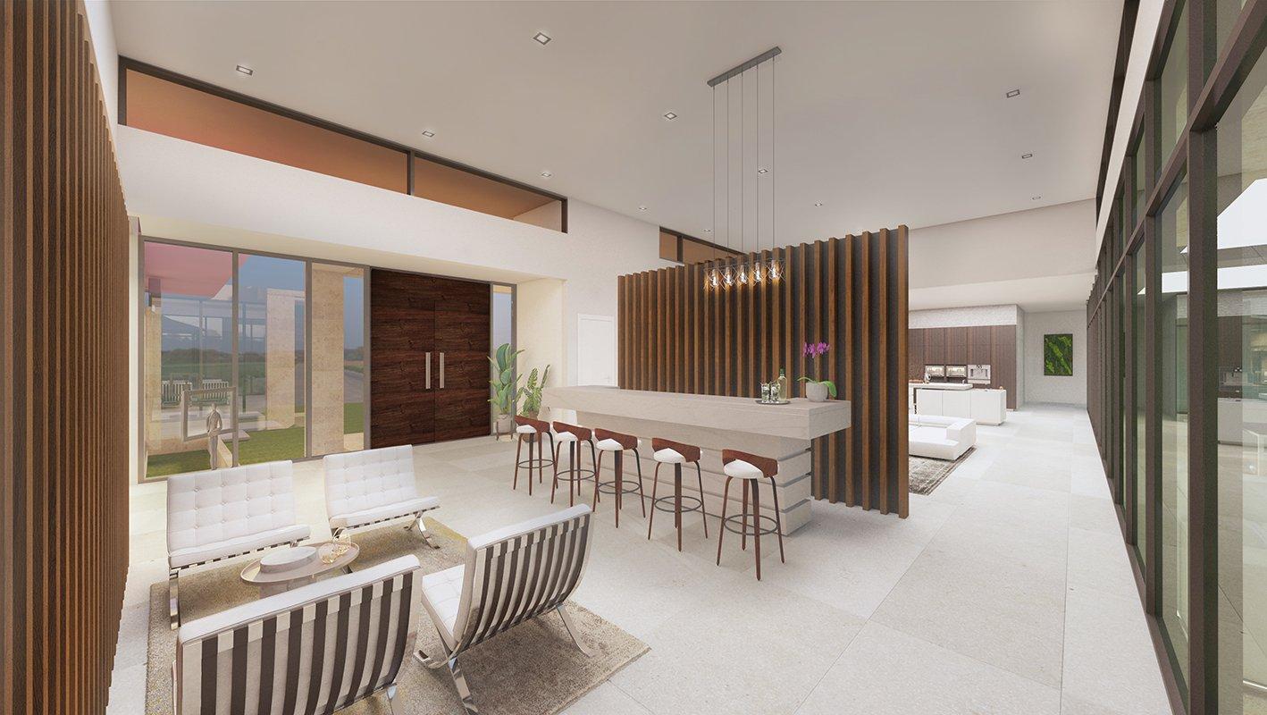 Interior Design project in Suncrest Drive, Florida