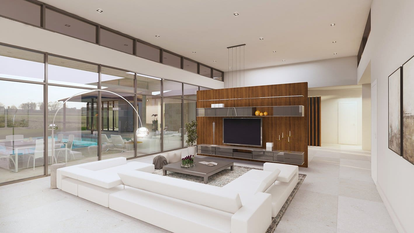 We developed the Interior Design of the Suncrest Drive, Florida