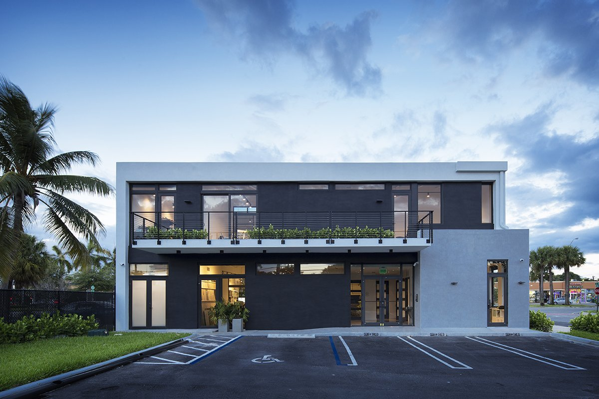 Back Front View Architecture project at 18200 NMB, Florida