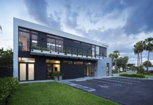 Back Side View Architecture project at 18200 NMB, Florida
