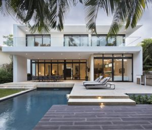 Terrace View Exterior Architecture project in 345 Golden Beach Drive, Florida