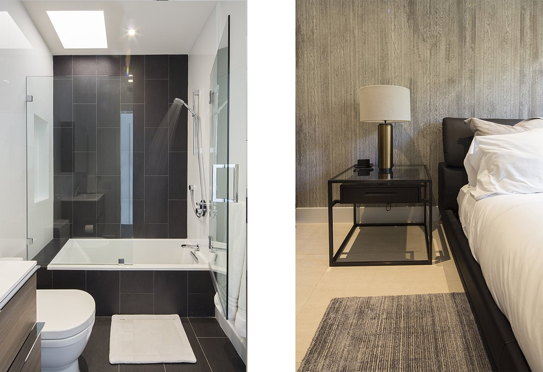 Bedroom Interior Design project in 345 Golden Beach Drive, Florida