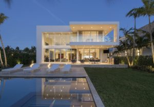 Architecture project in 410 Golden Beach Drive, Florida