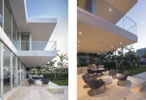 Terrace View Exterior Architecture project in 410 Golden Beach Drive, Florida