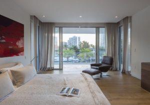 Bedroom View Interior Design project in 410 Golden Beach Drive, Florida