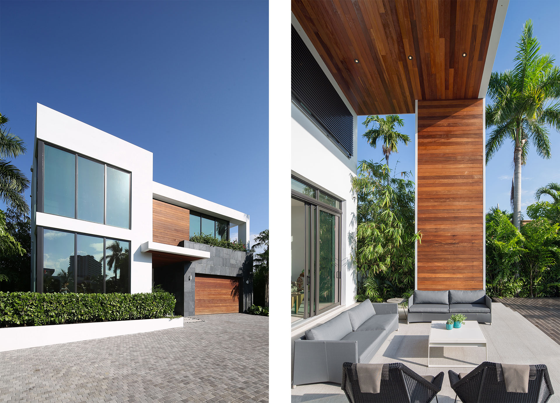 Exterior Architecture project in 475 Center Island Drive, Florida