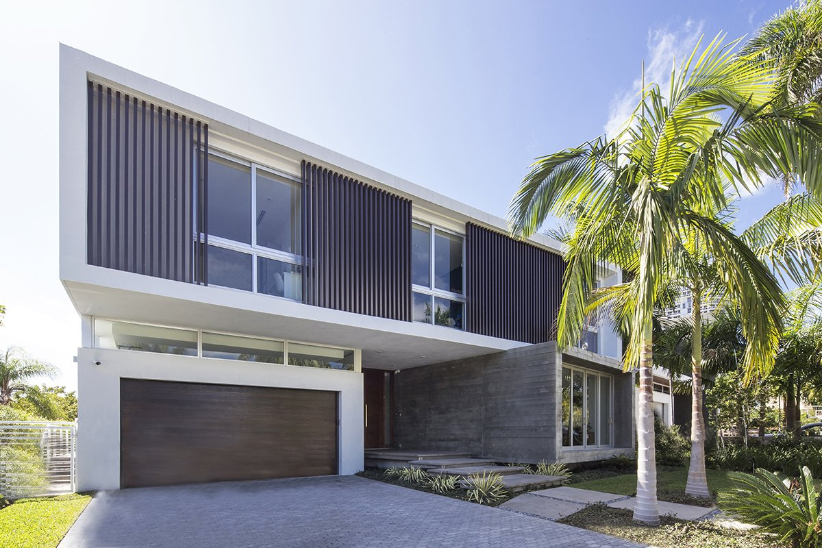Front View Exterior Architecture project in 480 North Parkway, Florida