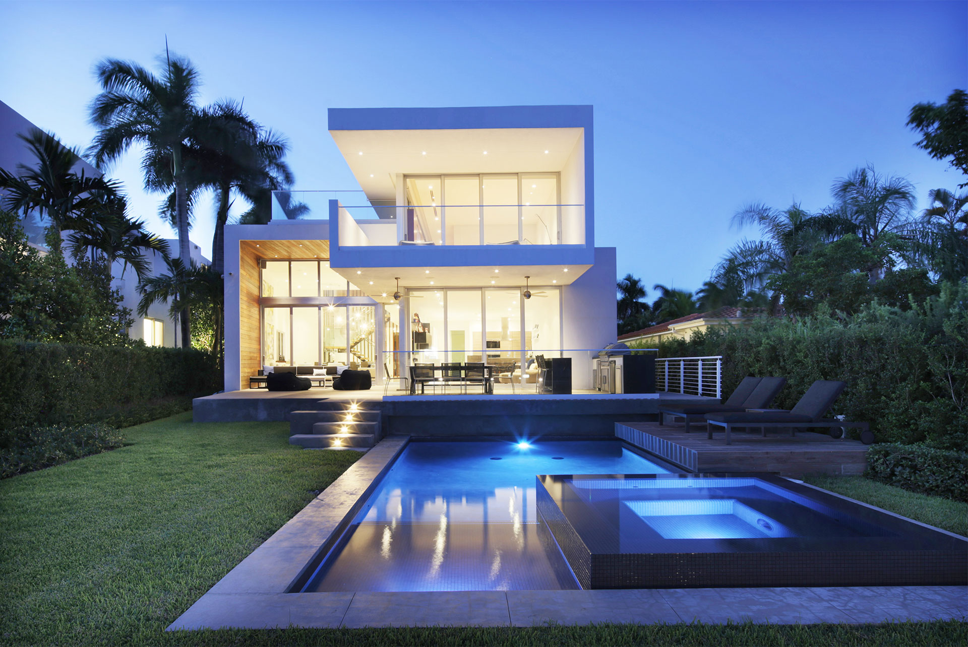 Swimming Pool View Exterior Architecture project in 480 North Parkway, Florida