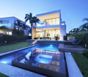 Swimming Pool Front View Exterior Architecture project in 480 North Parkway, Florida