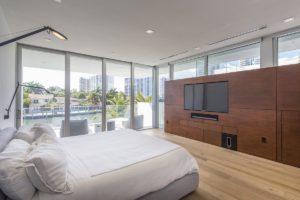 Bedroom View Interior Design project in 480 North Parkway, Florida