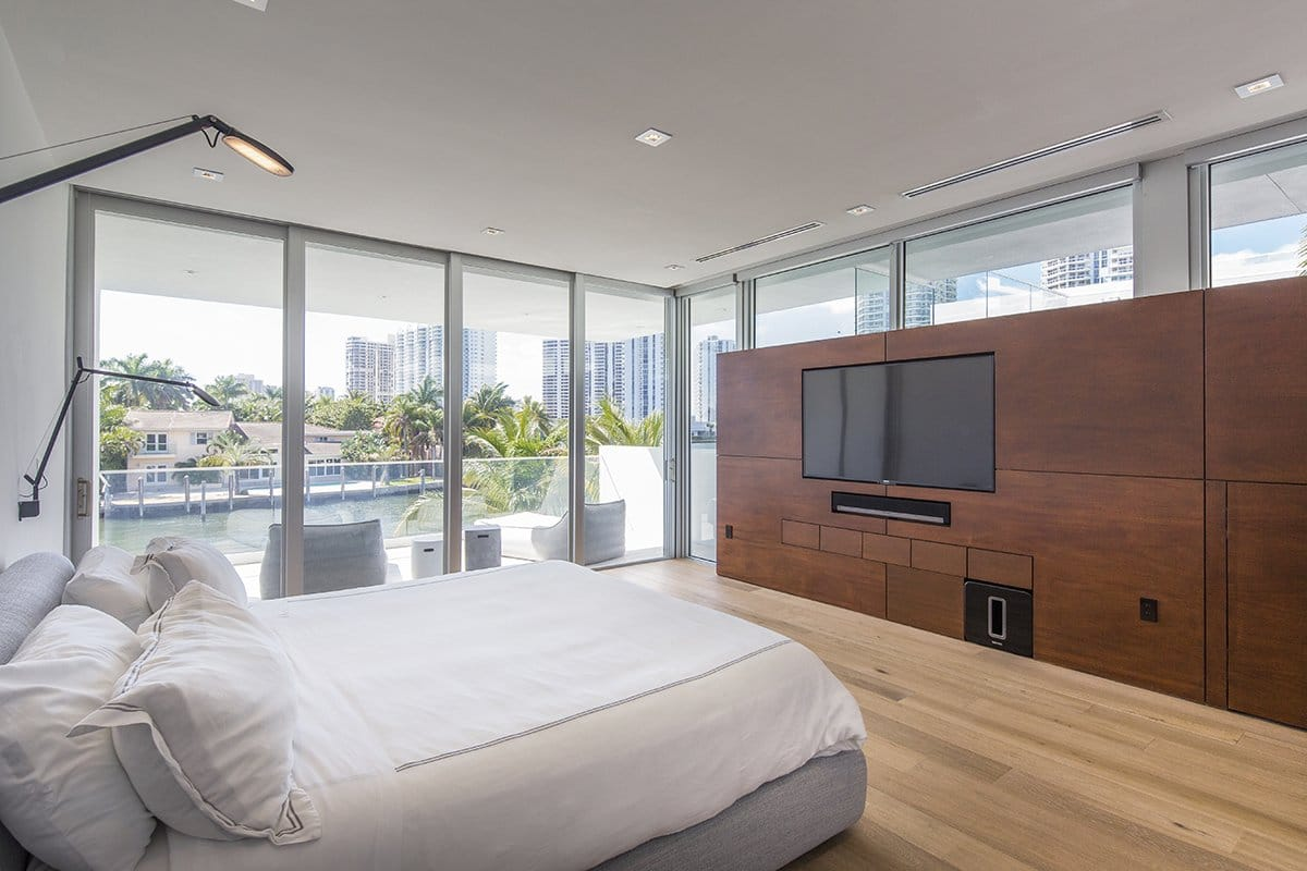 Bedroom View Interior Design project in 480 North Parkway, Florida