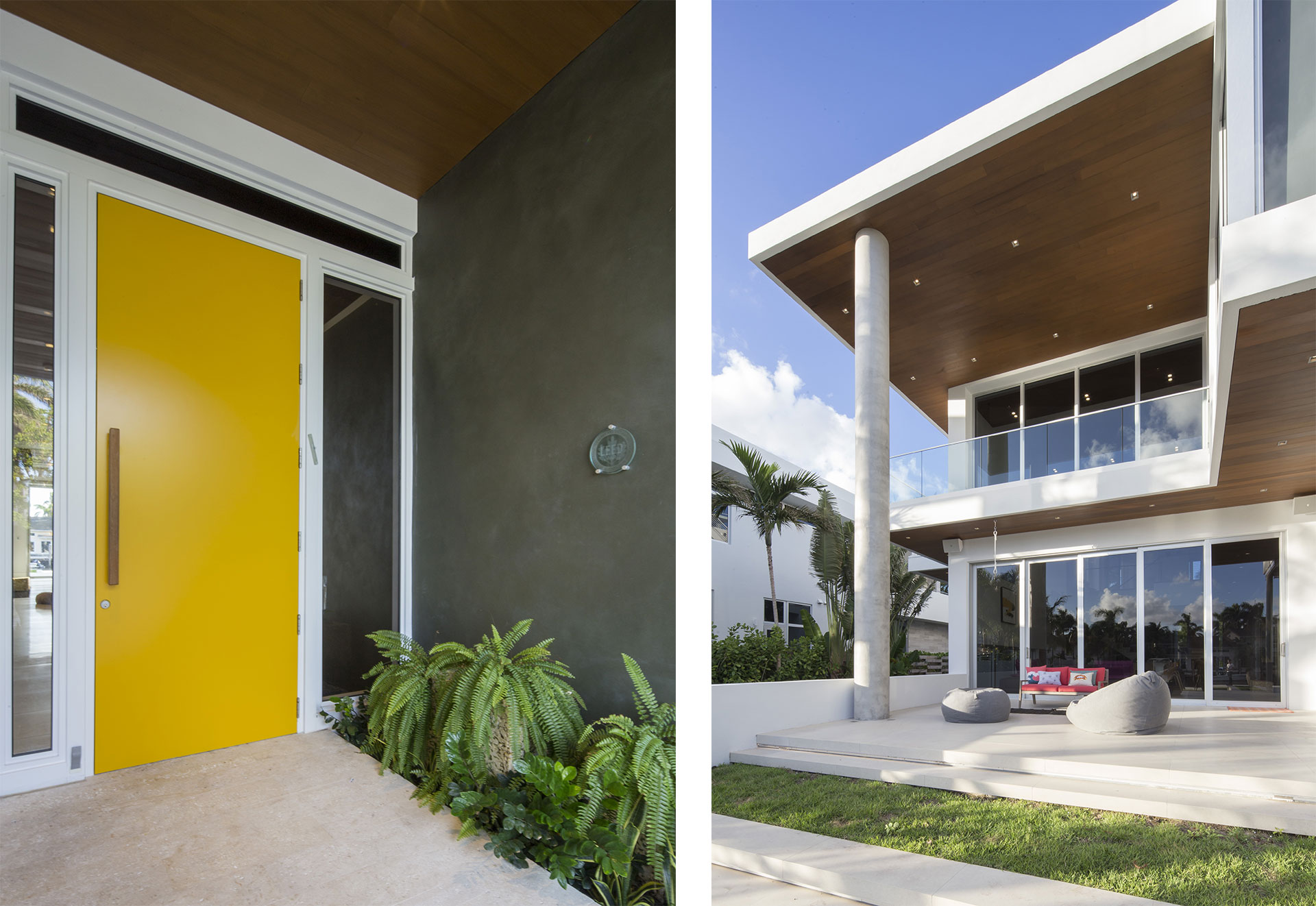 Terrace Front View Exterior Architecture project in 484 North Parkway, Florida