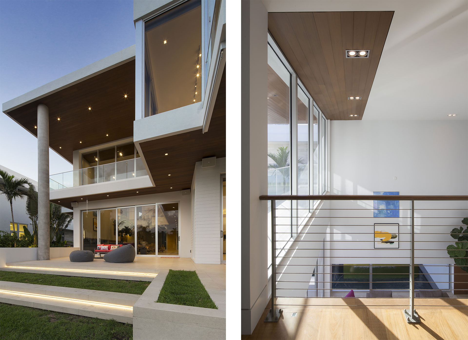 Terrace Side View Exterior Architecture project in 484 North Parkway, Florida