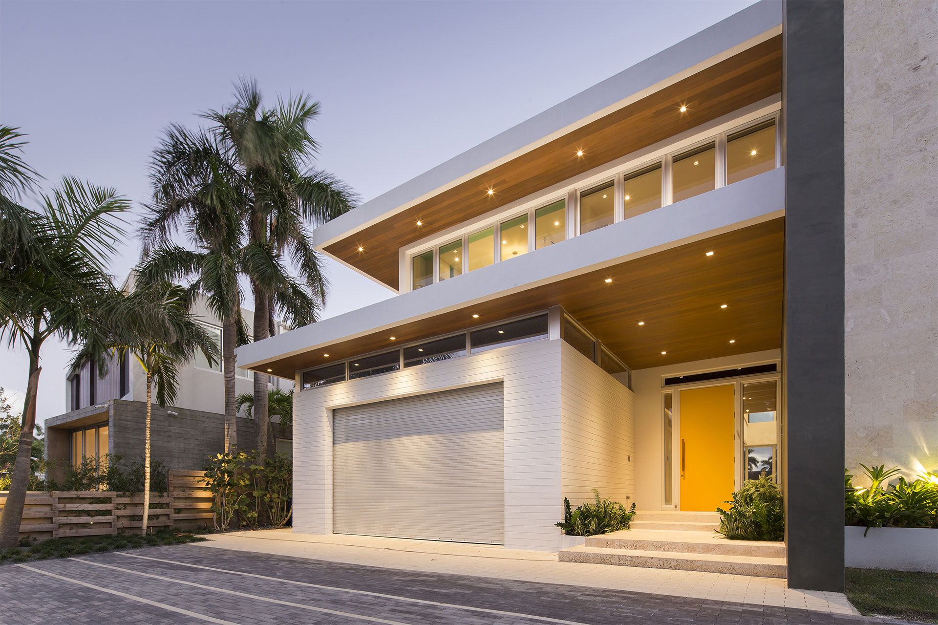 Front View Exterior Architecture project in 484 North Parkway, Florida