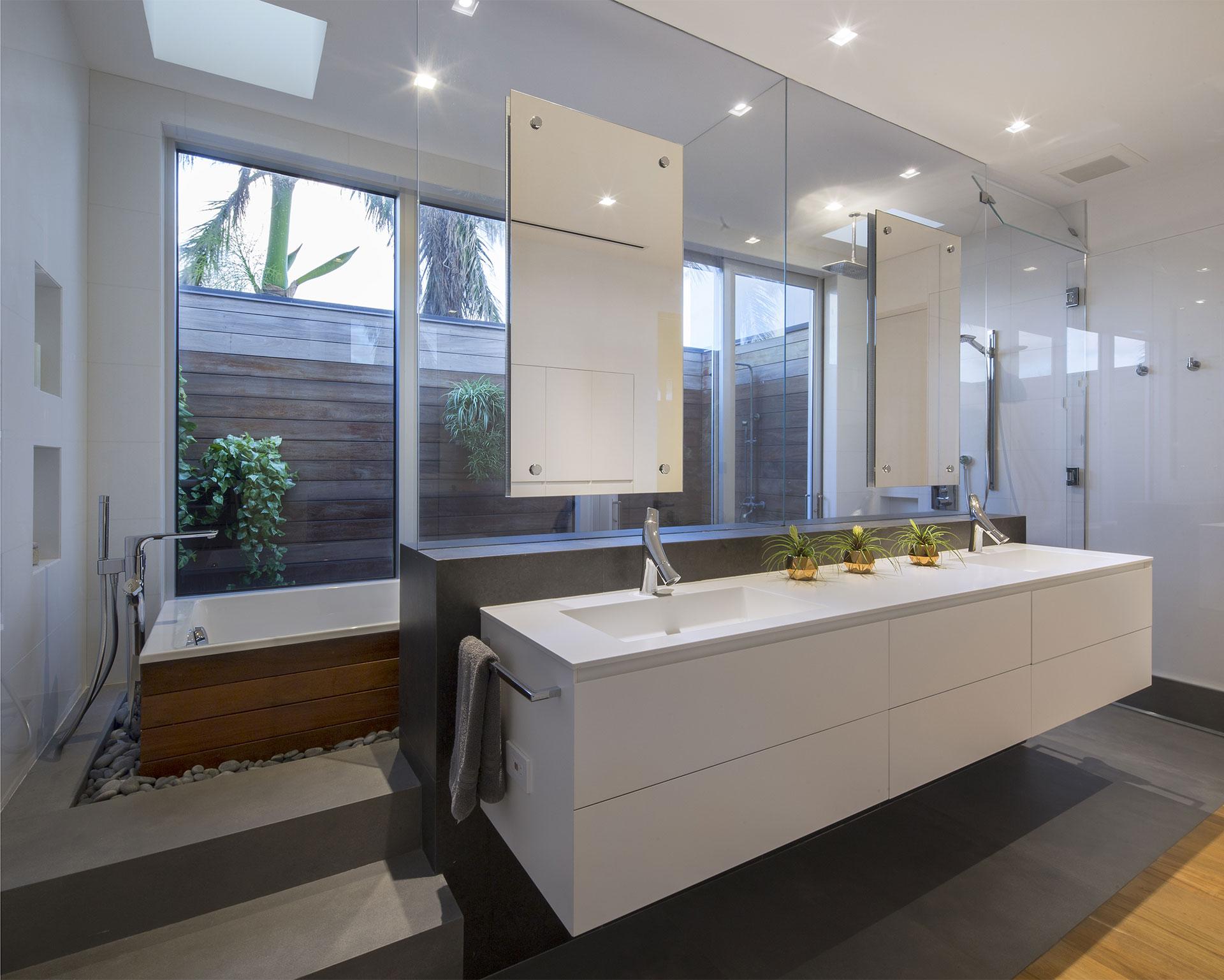 Bathroom Side View Interior Design project in 484 North Parkway, Florida