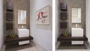 Bathroom Front View Interior Design project in 484 North Parkway, Florida