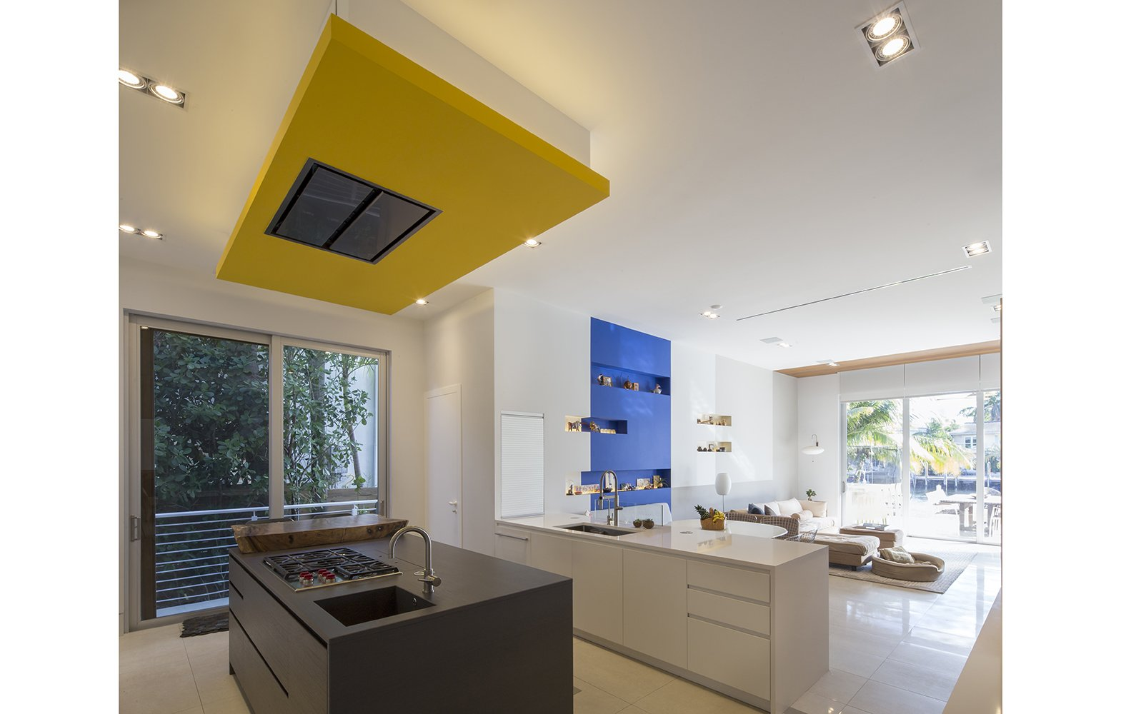 Kitchen View Interior Design project in 484 North Parkway, Florida