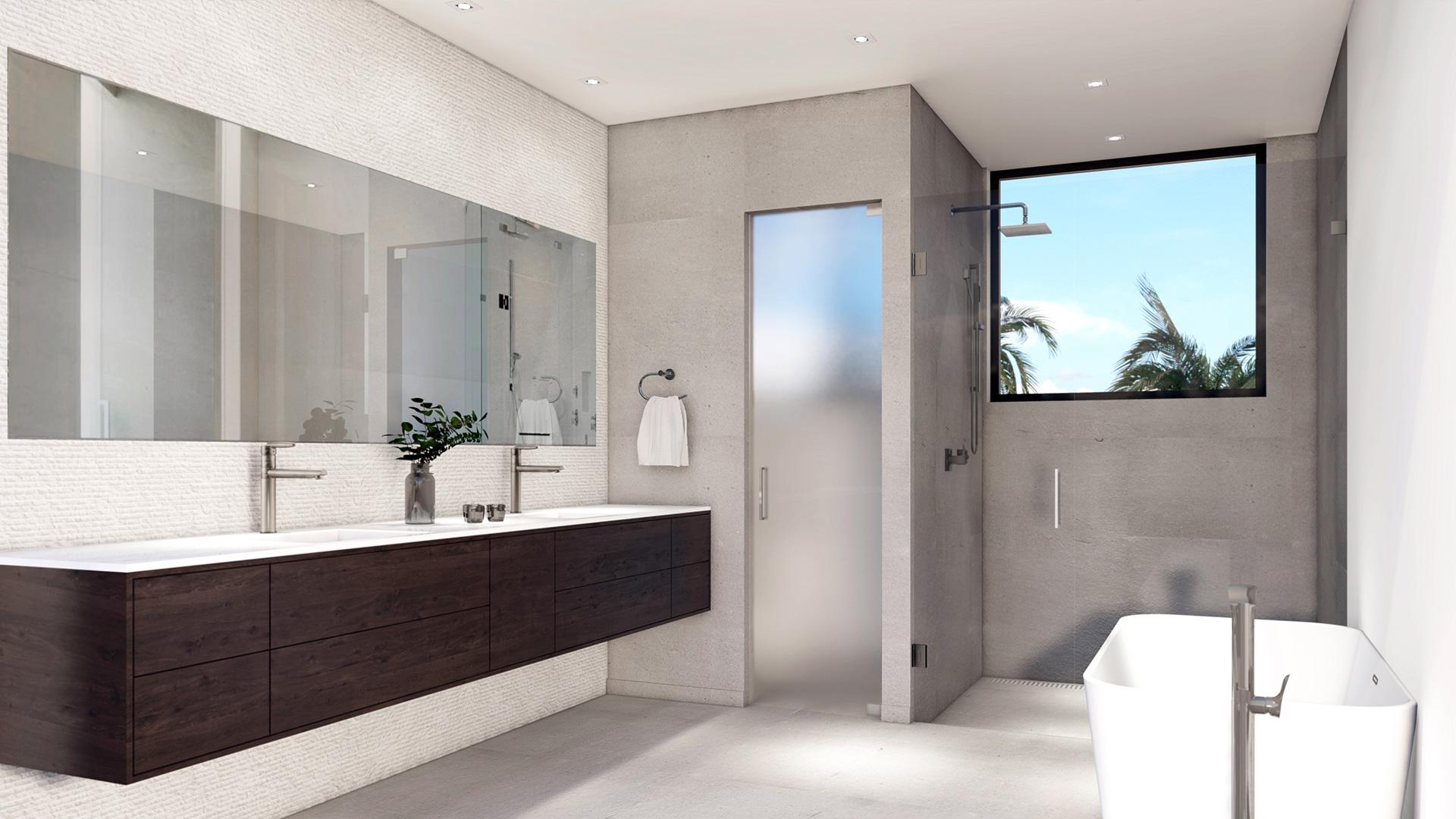 Architecture project in 577 Golden Beach Drive Miami, Florida