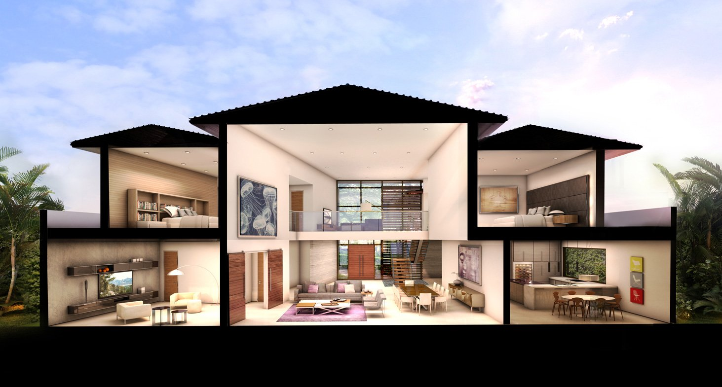 We developed the Architecturen of the 65 Bal Harbour, Florida