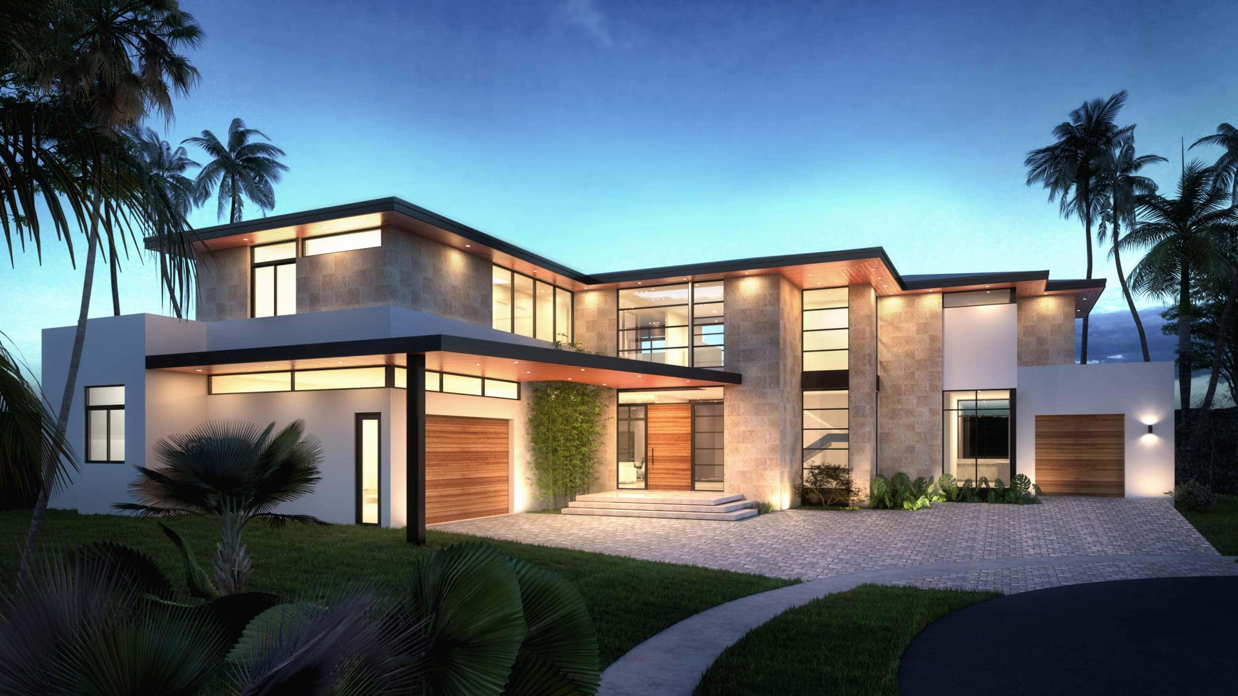 Architecture project in 197 Enchanted Lake Miami, Florida