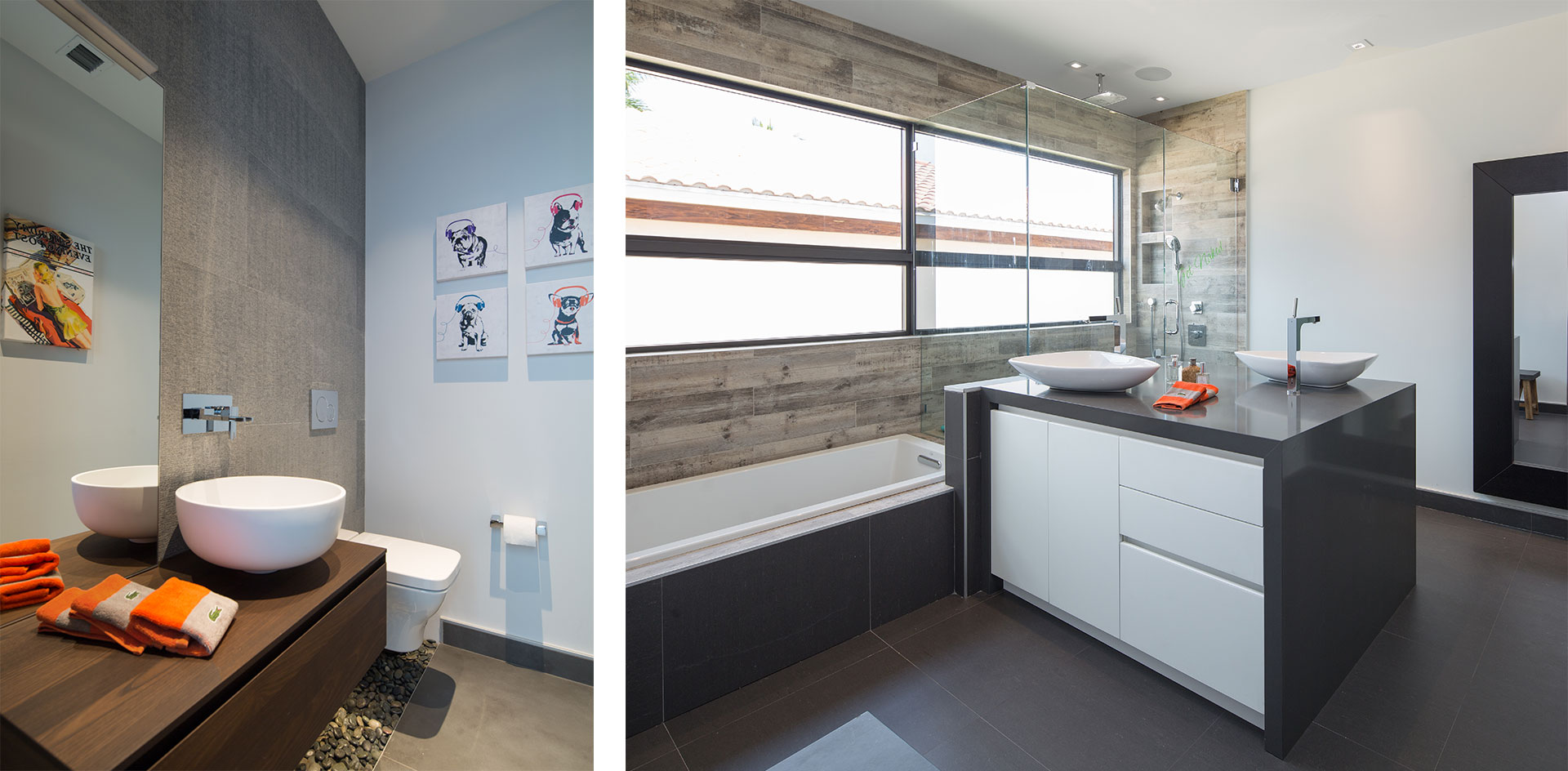 Interior Design bathroom view project in Boca Raton, Florida